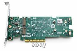 Dell Ssd M. 2 Pcie X2 Carte D'adaptateur De Stockage À L'état Solide Jv70f 0jv70f