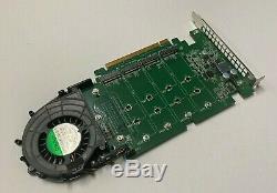 Dell Ssd M. 2 Pcie X4 Mémoire Flash Carte Adaptateur 6n9rh Jv6c8 Phr9g 80g5n