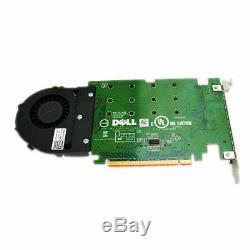 Dell Ssd M. 2 Pcie X4 Mémoire Flash Carte Adaptateur 80g5n Phr9g 6n9rh 06n9rh