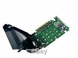 Dell Ssd M. 2 Pcie X4 Mémoire Flash Carte Adaptateur Jv6c8 Phr9g 6n9rh 80g5n