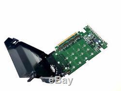 Dell Ssd M. Carte Adaptateur De Stockage Ssd M. 2 Pcie X4 Jv6c8 Phr9g 6n9rh 80g5n