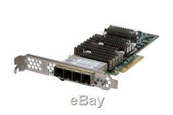 Dell Tfjrw Lsi 9206-16e Quad Port Adaptateur De Bus Hôte Pcie Externe Carte Contrôleur