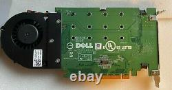 Dell Ultra-speed Drive Quad Nvme M. 2 Pcie X16 Card P/n 06n9rh (adaptateur Seulement)