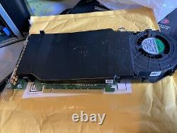 Dell Ultra-speed Drive Quad Nvme M. 2 Pcie X16 Card (adaptateur Seulement)