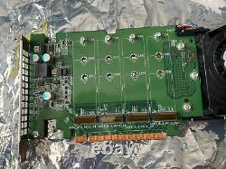 Dell Ultra-speed Drive Quad Pcie X16 Adaptateur Card Jusqu'à 4x Nvme M. 2 Prise En Charge Ssd