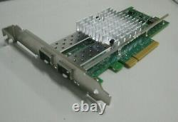 Dell Vfvgr X520-t2 Sfp 10gbe Pci-e Dual Port Converge Ethernet Network Adaptateur