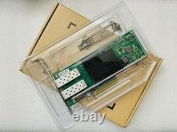 Dell Y5m7n Intel X710-da2 Dual Port 10gb Sfp+ Convergd Network Adapter Card Nic