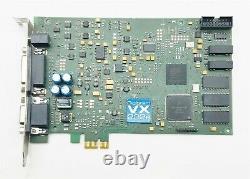 Digigram Vx222e Pcie Carte D'adaptateur Audio Numérique De Diffusion Professionnelle