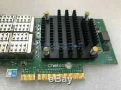 Double 40gb Chelsio T580-so-cr Pci-e Msip-rem-cc2-t580-so-cr Carte Adaptateur