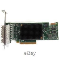Emulex Pmd-rem-uem-p007729 Quatre Ports Sfp Pcie Hba Host Bus Adapter Card