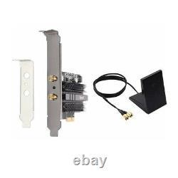 Fenvi Pcie Carte Réseau Wifi 6 Mu-mimo Ofdma Ax200 802.11ax Adaptateur Sans Fil