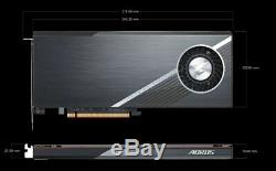 Gigabyte Gc-4xm2g4 Aorus Gen4 Aic Adaptateur Pcie 4.0 M. 2 Ssd Carte Raid Souple