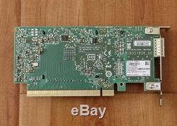 HP Mellanox Connectx-cx555a 5 Infiniband Carte Adaptateur Vpi Qsfp28 Faible