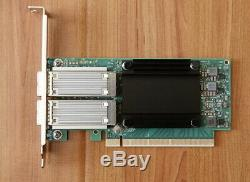 HP Mellanox Connectx-cx556a 5 Vpi Infiniband Et Carte Adaptateur Ethernet Qsfp28