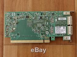 HP Mellanox Connectx-cx556a 5 Vpi Infiniband Et Carte Adaptateur Ethernet Qsfp28 Faible