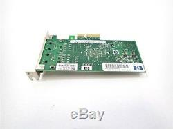 HP Nc360t Deux Ports Gigabit Nic Adapter Pcie Serveur Pcie Card Low Profile Lp Dp