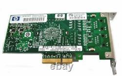 HP Nc360t Dual-port Gigabit Nic Pci-e Server Adapter Pcie Profil Carte Dp Lp