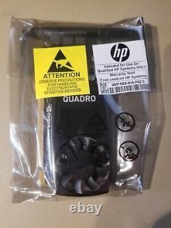 HP Nvidia Quadro P400 2 Go Pcie Carte Graphique Avec 2 X Adaptateurs 1me43aa