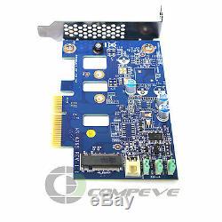 HP Ssd Pci-e À M. 2 Carte Adaptateur Contrôleur Ms-742006-002 4365 Low Profile
