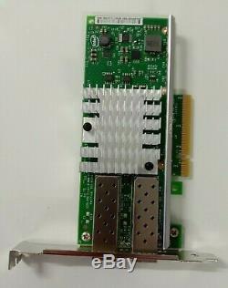 Intel Dell X520-da2 10gb Double Port Adaptateur Ethernet Sfp + Pcie Dell
