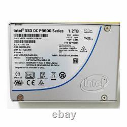 Intel P3600 1.2 To U. 2 Nvme Ssd + Pcie Carte Adaptée