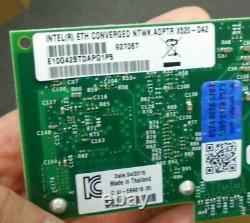 Intel X520-da2 10gb 10gbe 10 Gigabit Adapter E10g42btda (lot De 10)