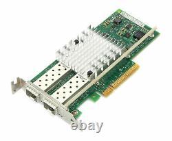 Intel X520-sr2 Pcie Ethernet Convergé 10gb Carte Réseau Adaptateur Profil Bas