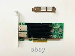 Intel X540-t2 10g Dual Rj45 Ports Pci-express Ethernet Converged Network Adaptateur