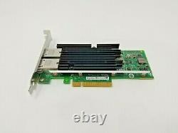 Intel X540-t2 Dual Port 10gbe 10gb (rj-45) Carte D'adaptateur Réseau Pcie X540t2
