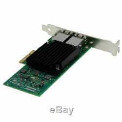 Intel X550-t2 Ethernet Réseau Convergé Carte Adaptateur Pci-10 Gigabit 10g E Nouveau