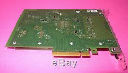 Intel X710-da4 Sfp + 10gb Pcie X8 Convergé Carte Adaptateur Réseau Dell Ddjky