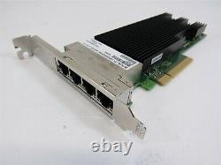 Intel X710-t4 Quad-ports Ethernet 10gbps Pcie 3.0 X8 Adaptateur Réseau Haut