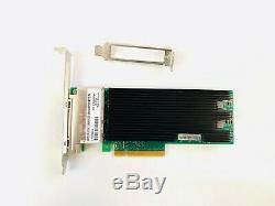 Intel X710t4 Ethernet Adaptateur Réseau Convergé X710t4 10gigabit Carte X710t4blk