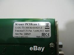 Kvaser Pciecan Hs / Hs Pcie À Canbus Carte Adaptateur 73-30130-00425-2