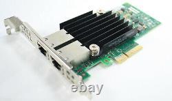 Lenovo Intel X550 Dual Port 10g Adaptateur Base-t Carte Pcie IBM 00mm862