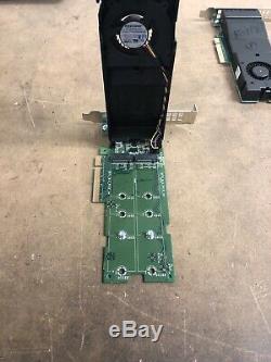 Lot De 10 Dell M. 2 Pci-e 2x Solid State Storage Card Adapter 0ntrcy