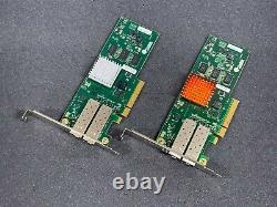 Lot De 2 Chelsio 110-1120-40 Pci-e 2.0 2 X 10gbe Sfp+ Adaptateur Réseau Nice Deal