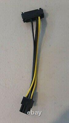 Lot De 50 Pci-e 1x To 16x Riser Card Adaptateur Power Btc Cable Usb 3.0