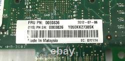 Lot De 8 IBM 00e0836 8xxxx-5767 10/100/100 Base 2-port Pcle Ethernet Adaptateur