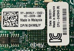 Lot Of 12 Dell Hm9jy Intel Pro/1000 4-port 1gb Pcie Réseau Serveur Adaptateurs