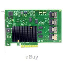 Lsi00244 Carte D'adaptateur De Bus Hôte SATA / Sas Pci-express 2.0 X8 9201-16i, Vendeur Américain