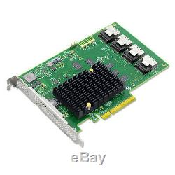 Lsi00244 Pci-express 2.0 X8 SATA / Sas Host Bus Adapter Card