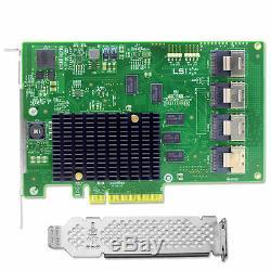 Lsi Lsi00244 De Pci-express 2.0 X8 SATA / Sas Host Bus Adapter Card
