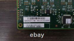 Lsi Sas 9201-16i Hba Pci-express Sff-8087 6gbps SATA / Sas Carte D'adaptateur Pour Bus D'accueil