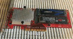 Lycom Dt-130 Bifurcation Riser (2 X 2 M. Nvme Pcie Ssd) Carte Adaptateur