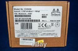 Mcx353a-fcbt Mellanox Connectx3 Vpi Adapter Carte 1 Port Qsfp 40 Gbe Pci-e Cx353a