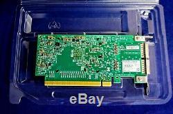 Mcx456a-evac Mellanox Connectx-4 Vpi Ib Ded 100gbe Qsfp28 Double Port Adaptateur