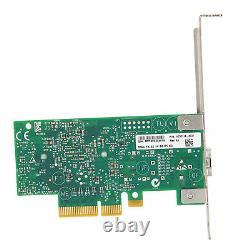 Mellanox 10 Go Gigabit Adaptateur De Carte Réseau Ethernet À Port Unique Pcie X4 X8 X16
