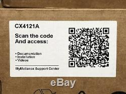 Mellanox Connectx-4 LX Fr Carte Réseau Adaptateur 10gbe Double Port Sfp + Carte Réseau Sfp28
