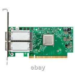 Mellanox Connectx-5 En Ethernet Adapter Card Pci Express 3.0x16 Fibre Optique